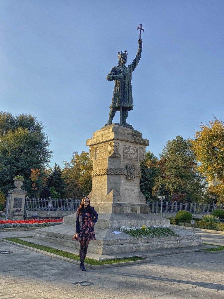 Pomnik Stefana Wielkiego w Kiszyniowie