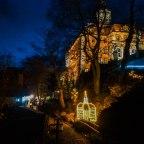 Ogrody Światła na Zamku Książ – magia Świąt na Dolnym Śląsku